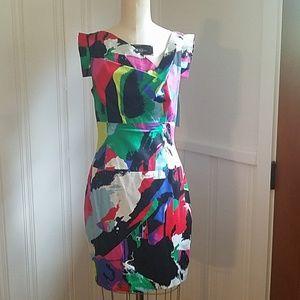 NEW Black Halo Jackie Mini Dress